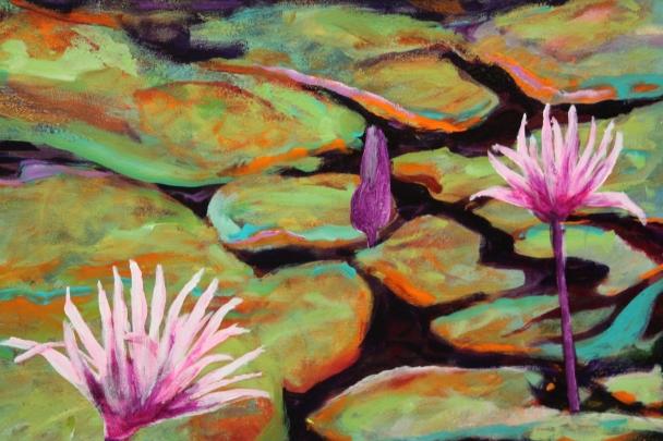Water lilies series
